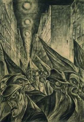 Albert Birkle, Under the Red Flags (1919)