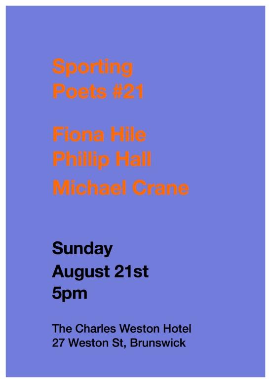 Sporting Poets-Aug