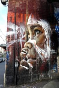 Adnate in Gertrude St. Fitzroy. Melbourne, Australia
