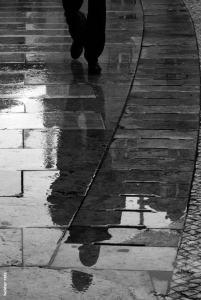 Helder Reis, Rue glissant et noire