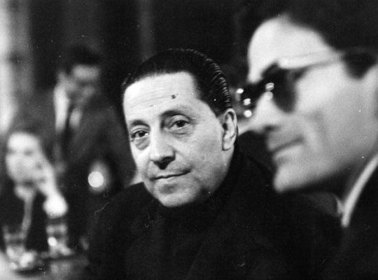 Ο Sandro Penna με τον Pier Paolo Pasolini